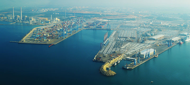 File:Ashdod Port Aerial View.jpg