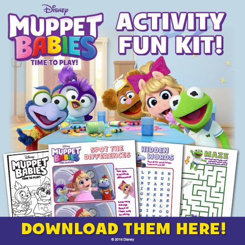 Download MUPPET BABIES Time To Play! activity pages