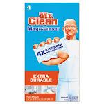 Mr. Clean 82038 Magic Eraser Extra Power Cleaning Pads, 4 Pads (PGC82038)