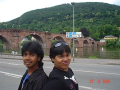 Jambatan Heidelberger's Alte Brücke, Heidelberg, Germany