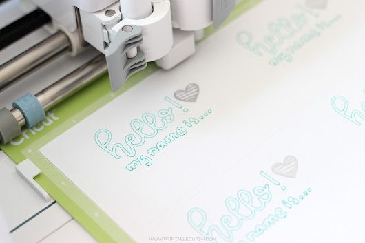 Cricut Pen Hand Lettering Projects - Printable Crush