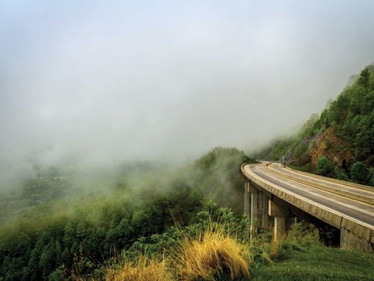 Mist on the Mountains, Southwest Virginia  Coffee Table Book