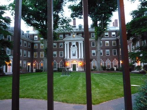 le campus de Harvard