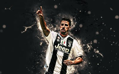 Download wallpapers 4k, Sami Khedira, goal, german footballers, Juventus FC, Serie A, Bianconeri, neon lights, Khedira, soccer, football, Juve, 4k Khedira besthqwallpapers.com