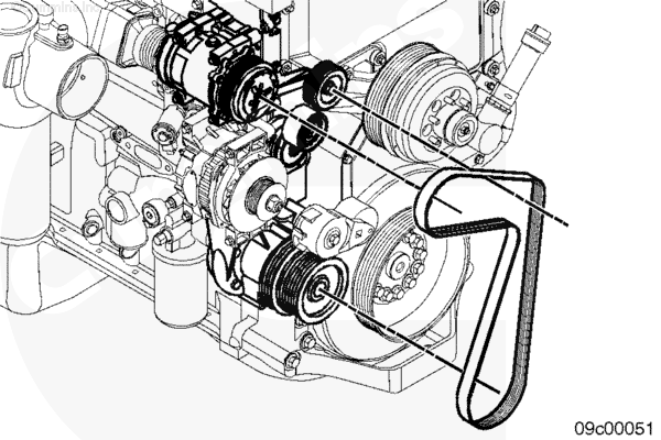 Wiring Diagram: 31 Cummins Isx Serpentine Belt Diagram