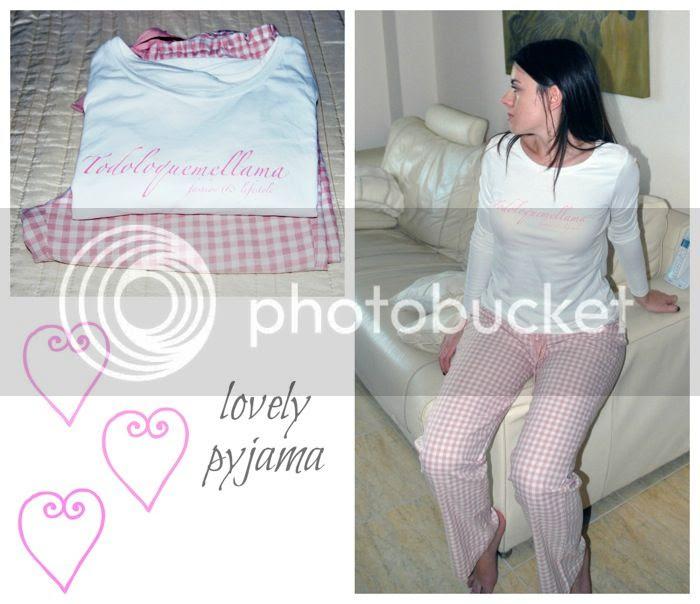 Pijama Oysho personalizado