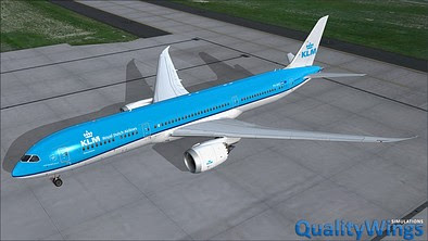 Download QualityWings Boeing 787 #FSX