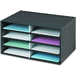Bankers Box - Decorative Eight Compartment Literature Sorter