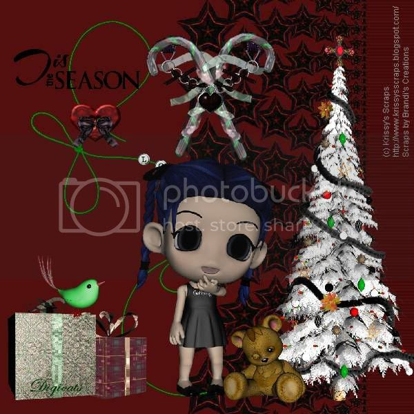 Gothic,Chibi,Doll,Happy Holidays