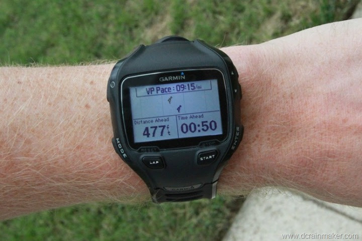 Garmin FR910XT Running Virtual Partner