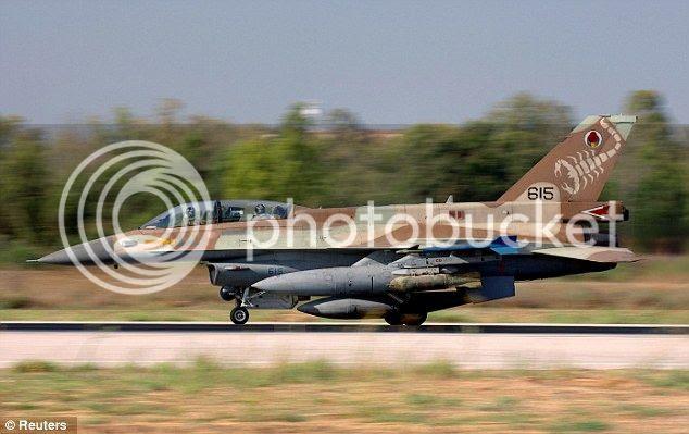 Caza israeli derriba avion no tripulado