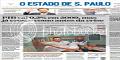 Capa dos principais jornais de São Paulo