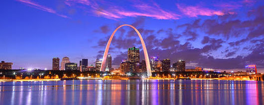 St Louis Arch Photographs for Sale