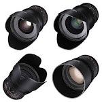 Rokinon 24, 35, 50, 85mm T1.5 Cine DS Lens Kit for Sony E-Mount