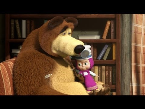 Кадр из мультфильма «Маша и Медведь : Будьте здоровы! (серия 15)»