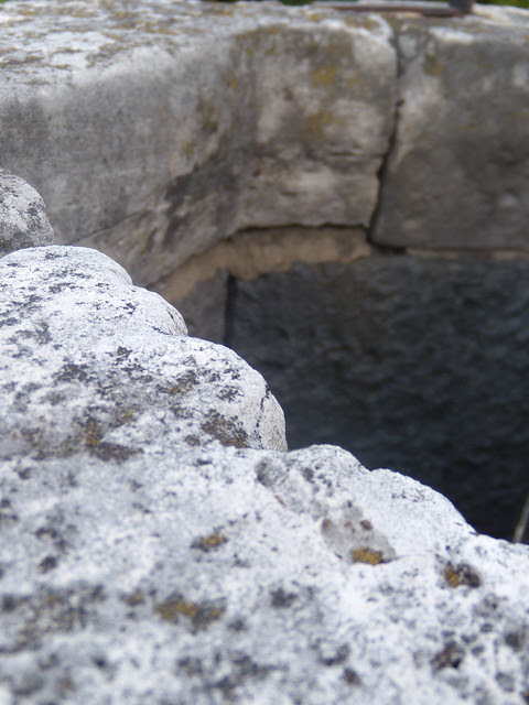 edge of the well