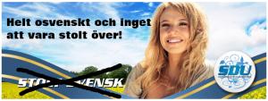 En falsk stolt svensk