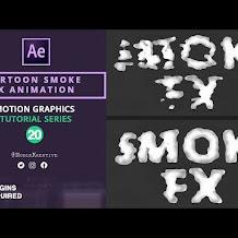 Cara Membuat Efek Asap Kartun Atau Cartoon Smoke Di After Effects