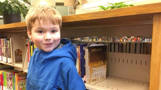 Portland author, 5-year-old son placed $100 bills in books around Portland