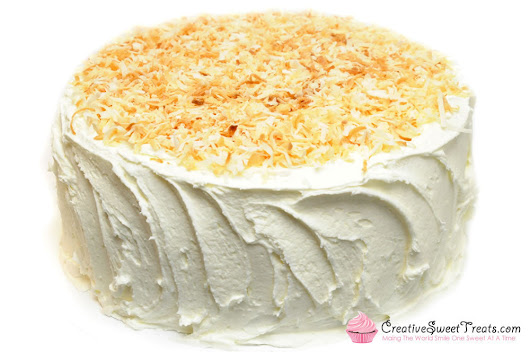 Coconut Cream Cake Delivered In St. Louis, MO – Creative Sweet Treats