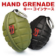 A Key & Coin Purse That Looks Like a Hand Grenade