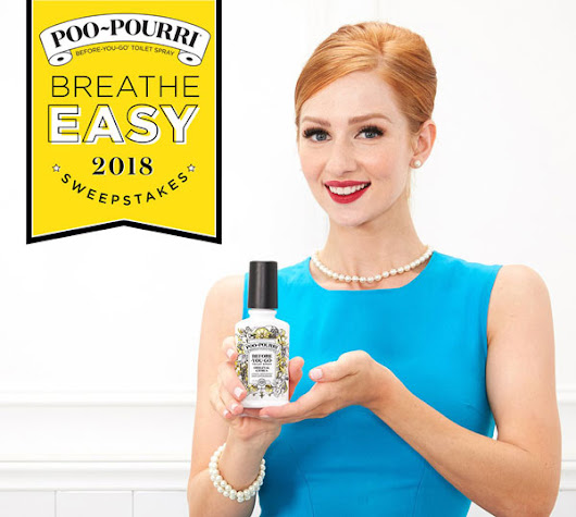Breathe Easy Sweepstakes from Poo-Pourri requests participants to produce and post their own videos - American Sweepstakes