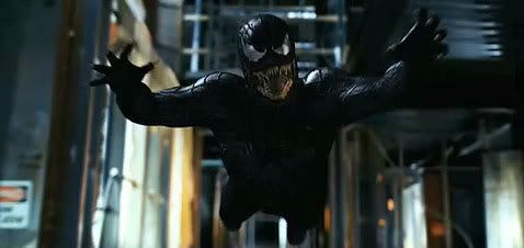 Venom attacks in SPIDER-MAN 3...