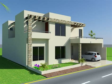 front elevation   marla house design mian wali