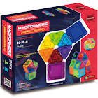 Magformers Standard - Rainbow Clear Solid