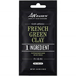 S.W. Basics French Green Clay Face Mask, for Oily Skin, Gentle Exfolia