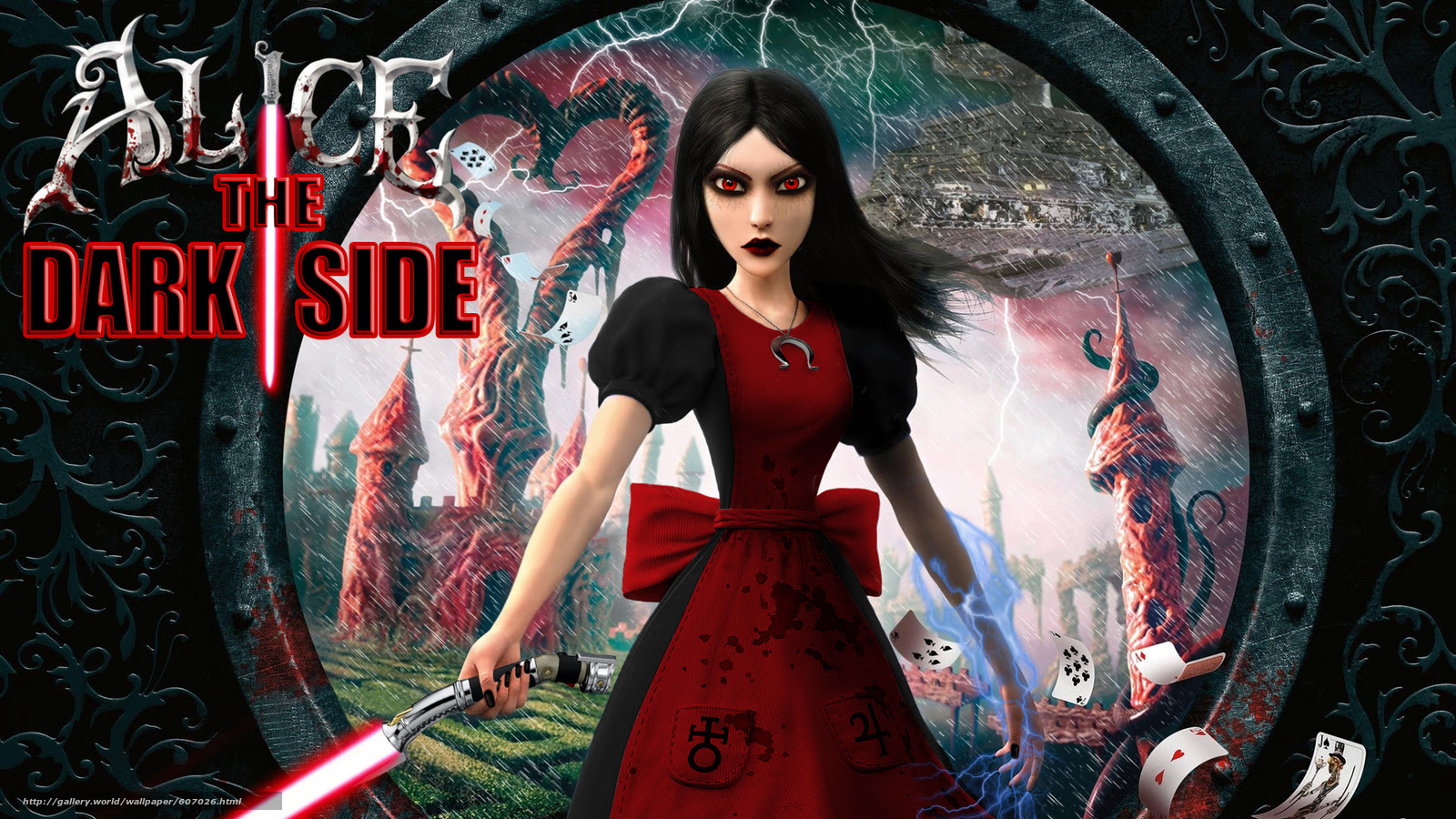 Download Wallpaper Alice Madness Returns Lightsaber For Fun Free