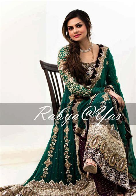 Green party dresses   Pakistani dresses in green color