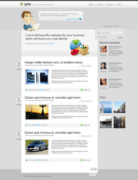 Simple-theme-inspiration-wordpress-blog-designs
