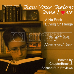 Show Your Shelves Some Love, No Book Buying Challenge 2015