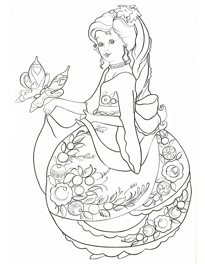 Anti stress coloring pages for girls to download and print ...