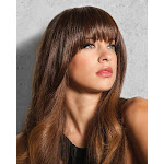 Clip In Bang Hairpiece by Hairdo in R25, Length: Short