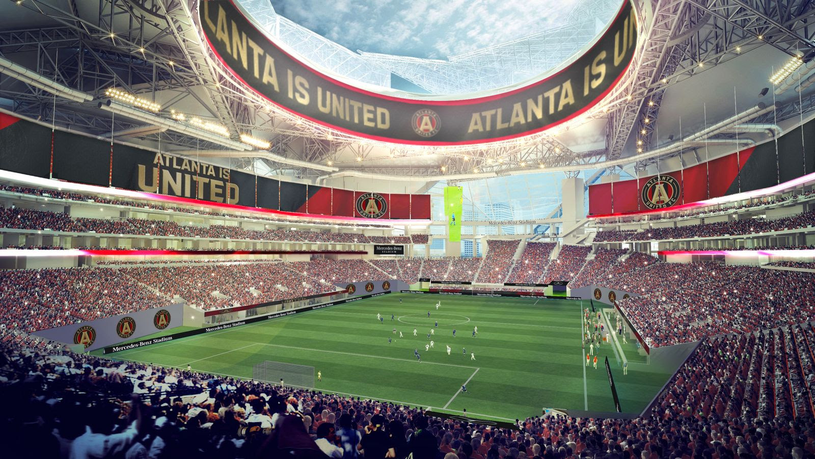 Design: Mercedes-Benz Stadium - StadiumDB.com