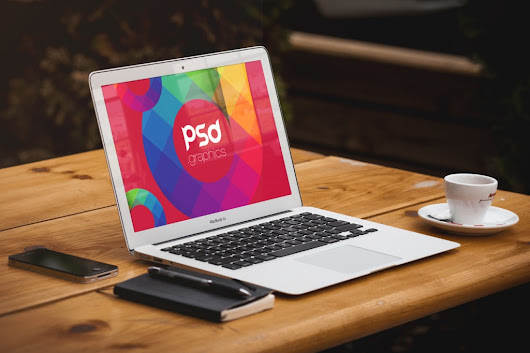 Macbook Air Mockup Free PSD Graphics | PSD Graphics