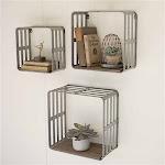 Slat Metal and Wood Display Crates