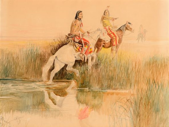 Charles Marion Russell, Piegan Hunting Party