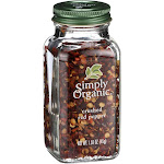 Simply Organic Crushed Hot Red Pepper - 1.59 oz jar