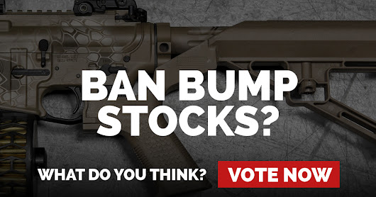 Should bump stocks be banned? Vote now!