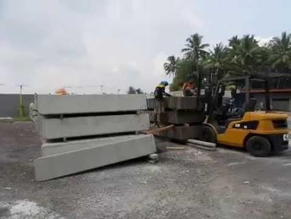 Harga Pemasangan Tembok Beton Precast Bekas Murah Surabaya Utara