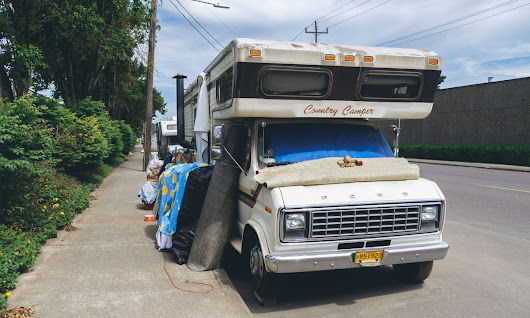 LA Has Criminalized Poverty By Making It Illegal To Sleep In Cars and RVs