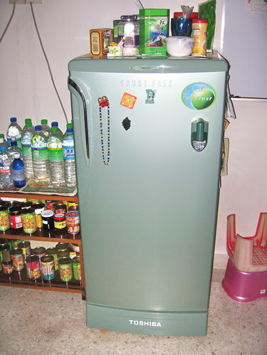 secondary fridge
