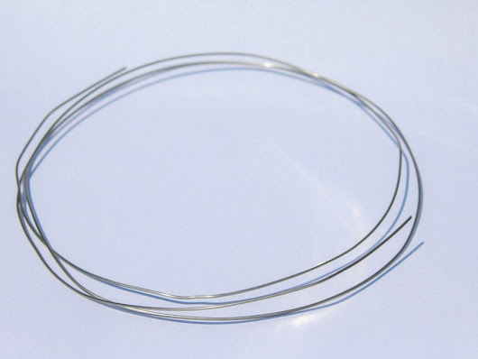 Details about  Stainless steel fastening, tie wire (gardening, modelling, model making, secure)