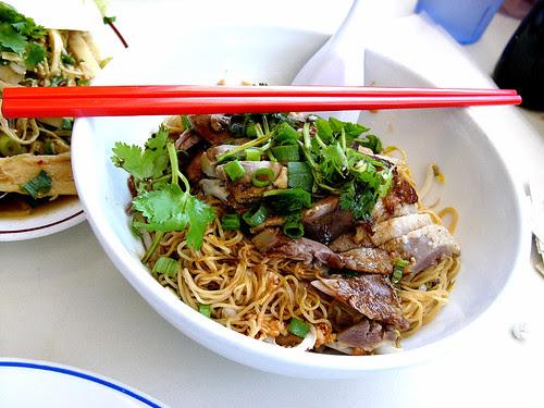 yai thai duck noodles
