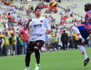Cicinho Sport x Fortaleza (Foto: Clelio Messias / Ag. Estado)