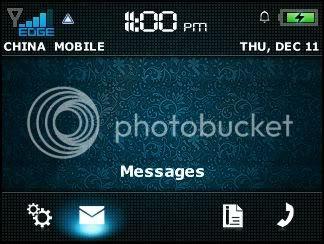 m8 en Theme đẹp dành cho BlackBerry 83xx và 87xx