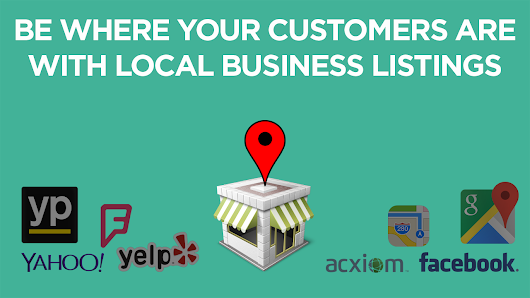 Be Where Your Customers Are with Local Business Listings